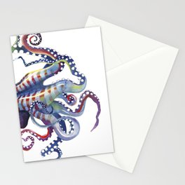 Sea Monster Stationery Cards