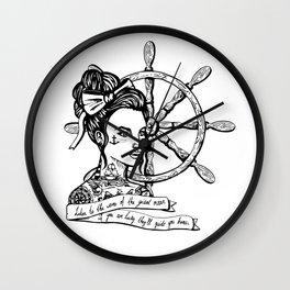 Sailor Woman Wall Clock