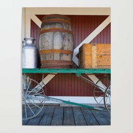 Train Station Wagon One Poster