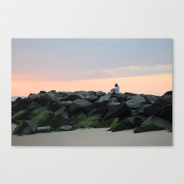 JETTY SUN Canvas Print