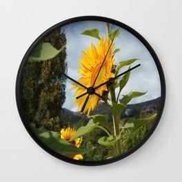 Sunflower One Wall Clock