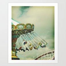 Swingin' Art Print