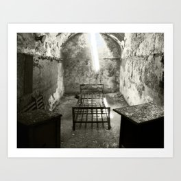 Cell in Eastern Penitentiary Art Print