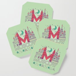 Moscow Russia Coaster