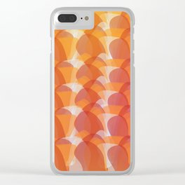 The Jelly Wave Collection Clear iPhone Case