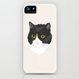 Casual Cat iPhone Case
