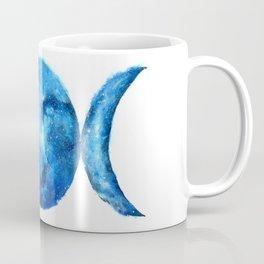 Triple Moon Goddess | Full Moon | Crescent Moon | Moon Phases Coffee Mug