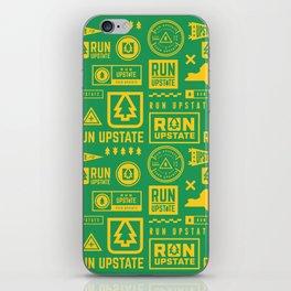 Run Upstate iPhone Skin