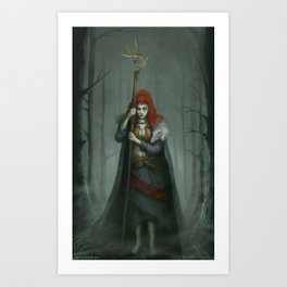 Season of the Witch Art Print