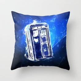 Time/Space Throw Pillow
