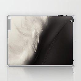 Feather Light in Black & White Laptop & iPad Skin