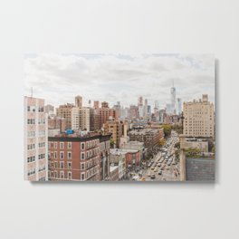 NYC on Saturday Metal Print