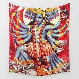 Hindu Kali 11 Wall Tapestry