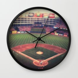 At the Ballpark   Wall Clock
