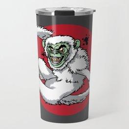 Ghost Monkey Travel Mug