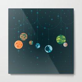 Seven Planets Metal Print