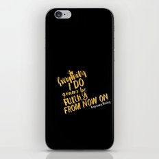 Louisiana Rising - Everything I Do Gonna Be Funky  iPhone & iPod Skin