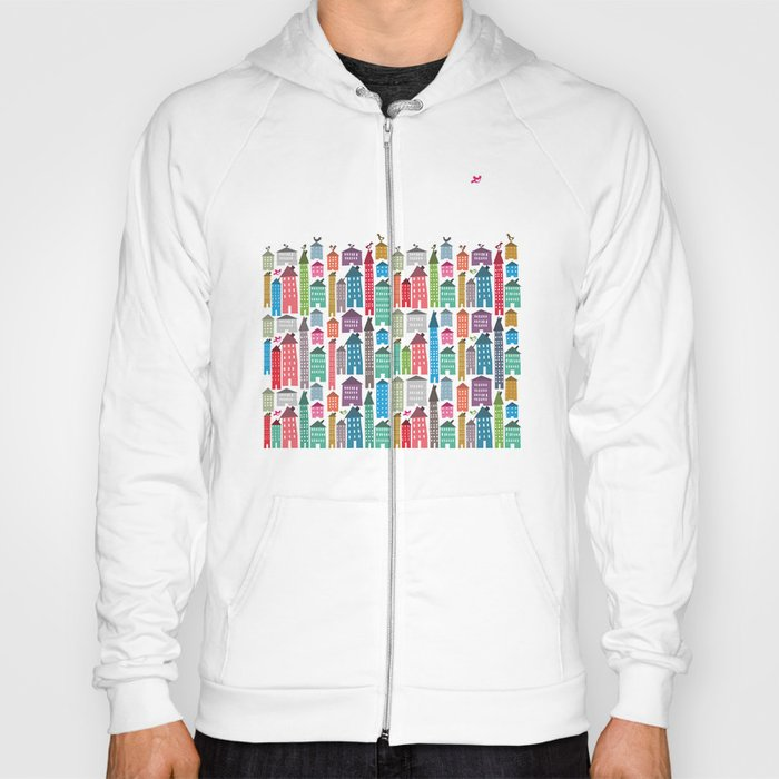 Houses and Birds Hoody