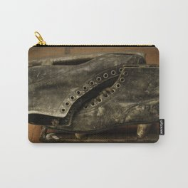 Vintage Ice Skates Carry-All Pouch
