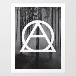 Devastated Forest Art Print