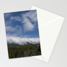 Clouds waterfall Stationery Cards
