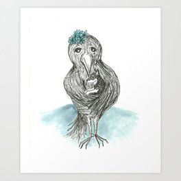 Mother Crow Art Print