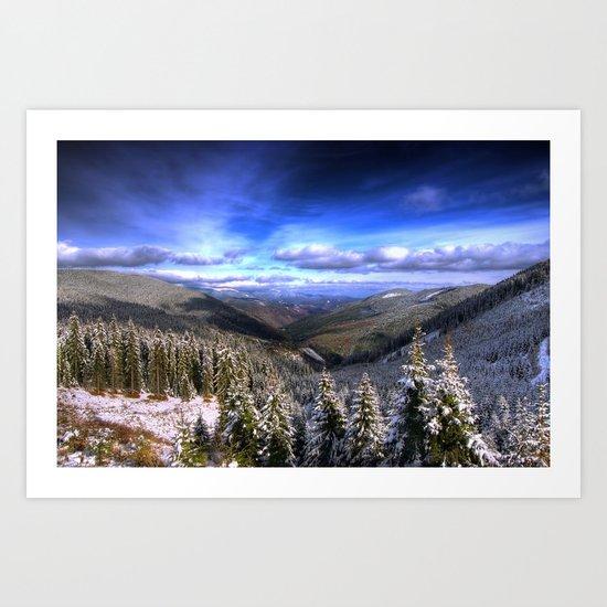 Winter Vision Art Print