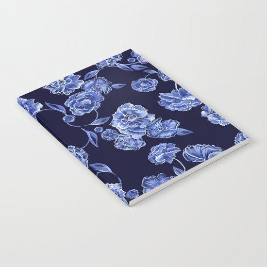 Porcelain Floral Notebook