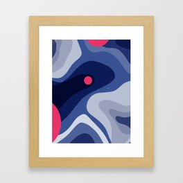 Dot | Happy modern Art Framed Art Print