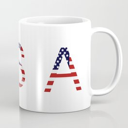 word United States of America Coffee Mug