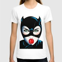 catwoman T-shirts featuring Catwoman by mark ashkenazi