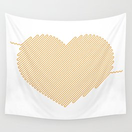 Heart Circuit Wall Tapestry