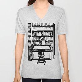 Library Unisex V-Neck
