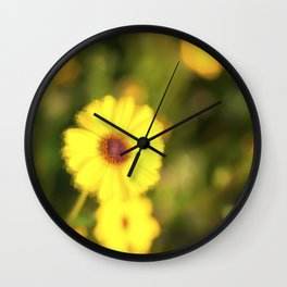 Nature's Smile Wall Clock