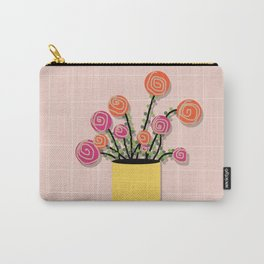 Roses in a Vase Carry-All Pouch
