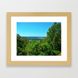 Butler Park Overlook of Kentucky Framed Art Print