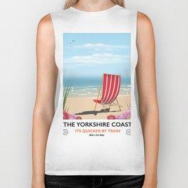 The Yorkshire coast Biker Tank