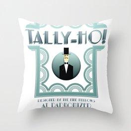 Tally-Ho! Throw Pillow