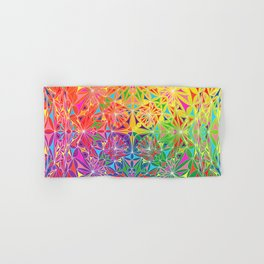 Pride Kaleidoscope Fx Hand & Bath Towel