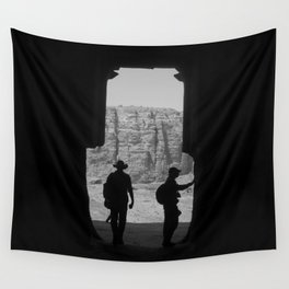 Explore, Petra Valley Wall Tapestry