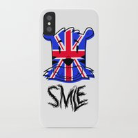 uk iPhone & iPod Cases featuring SMLE UK by SMLE™