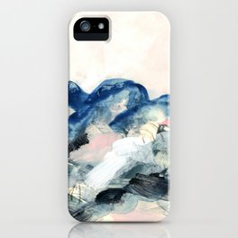 abstract painting II iPhone Case