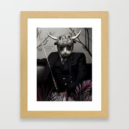 Bison Reyes Framed Art Print