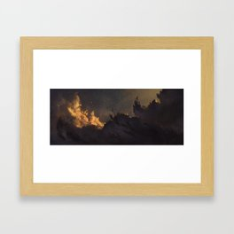Nebula 2 Framed Art Print