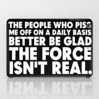 jedi iPad Cases featuring The Force  |  Jedi Humor by Silvio Ledbetter