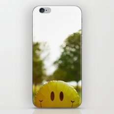 Inflated Smile iPhone & iPod Skin
