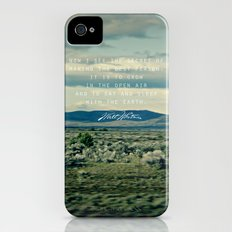 Whitman: Earth iPhone (4, 4s) Slim Case