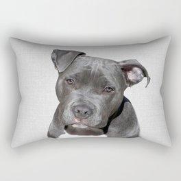 Pit bull - Colorful Rectangular Pillow
