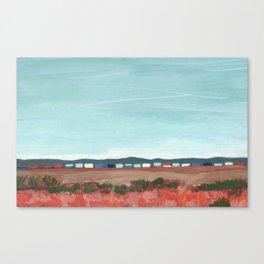 West Texas Train Canvas Print