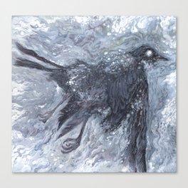 The Bearded Crow Canvas Print